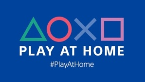 Das Logo der Play-at-Home-Initiative © Sony