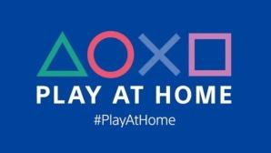 Das Logo der Play-at-Home-Initiative©Sony
