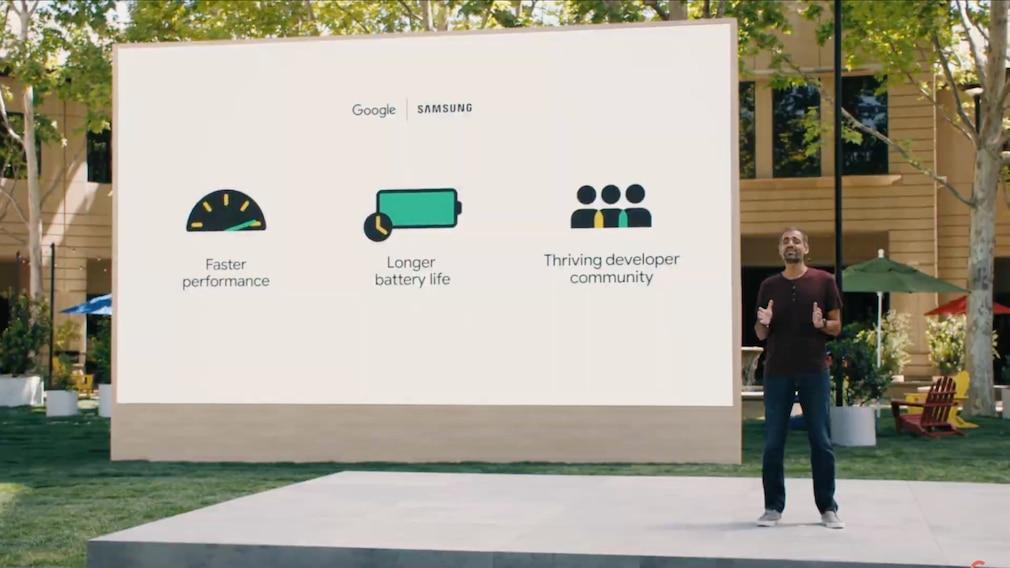 Kooperation von Samsung und Google