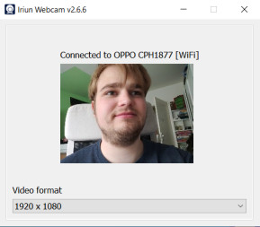 Iriun Webcam