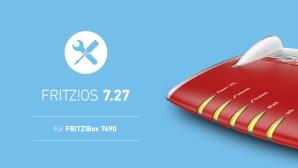 FritzOS 7.27 f�r FritzBox 7490©AVM