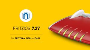 FritzOS 7.27 f�r FritzBox 5491 und 5490©AVM