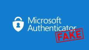 Gef�lschte Browser-Variante des Microsoft Authenticator©Microsoft