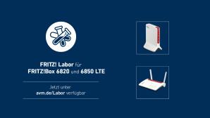 Fritz Labor f�r FritzBox 6850 LTE und 6820 LTE©AVM