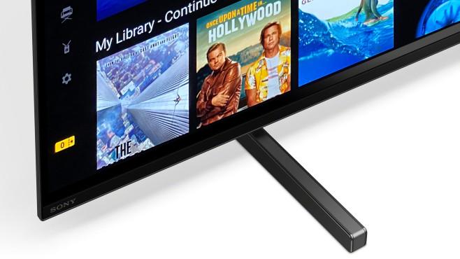 Beim Sony A80J ist der Bildschirm gleichzeitig auch Lautsprecher©Sony, COMPUTER BILD