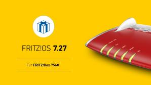 FritzOS 7.27 f�r FritzBox 7560©AVM