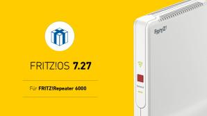 FritzOS 7.27 für FritzRepeater 6000©AVM