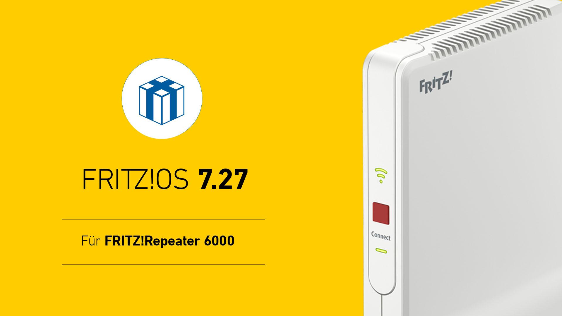 FritzOS 20.220 FritzRepeater 20 erhält das Update   COMPUTER BILD