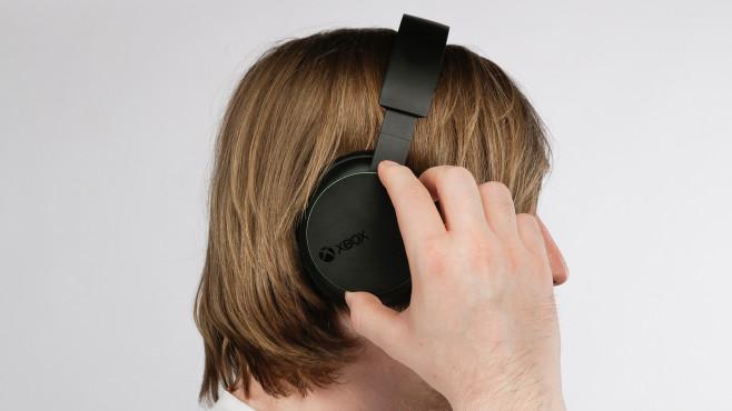 Xbox Wireless Headset im Test: Drehregler©Microsoft, COMPUTER BILD