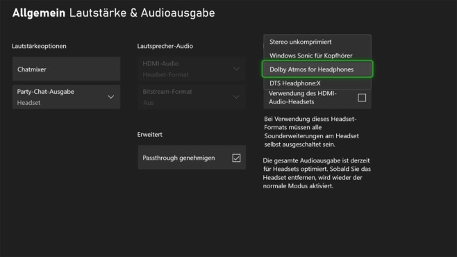 Xbox Wireless Headset im Test: Drehregler©Microsoft