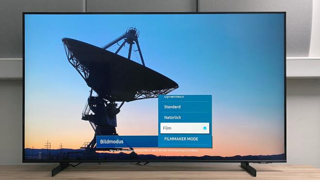 Samsung AU8079 im Test: Wow, ist der flach! Beste Bildqualität zeigte der Samsung AU8079 im Test im Bildmodus Film.©COMPUTER BILD