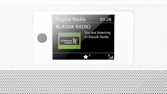 Kenwood CR-ST80DAB im Test: Display©Kenwood, Klassik Radio