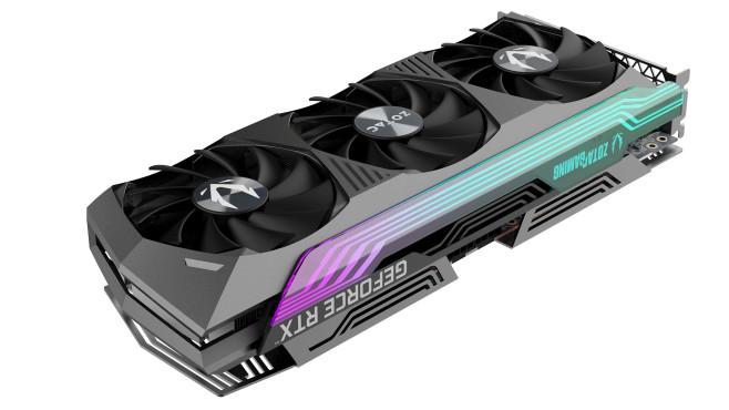 ZOTAC GAMING GeForce RTX 3070 Ti AMP Holo©Zotac
