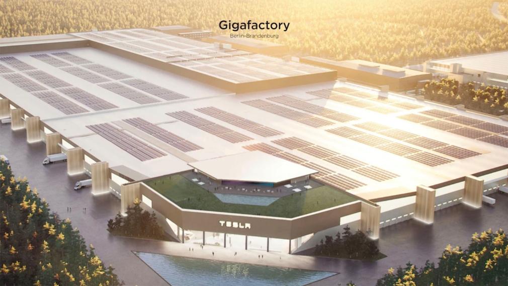 Tesla-Gigafactory in Grünheide