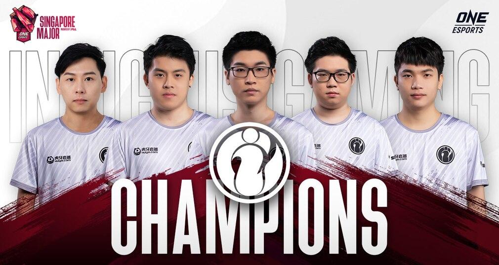 Invictus Gaming ONE Esports Singapore Majore 2021