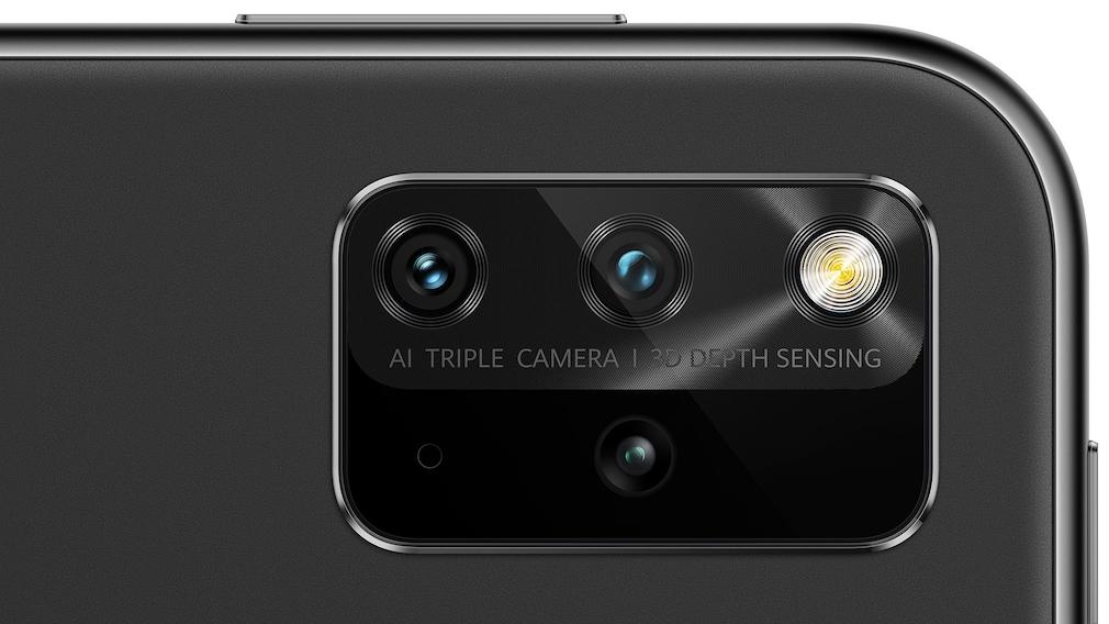 Die Kamera des Huawei MatePad 12.6 in der Nahaufnahme.