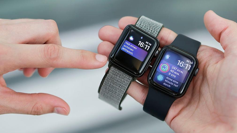 Apple Watch 3 und 4