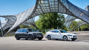 Der BMW iX und i4©BMW