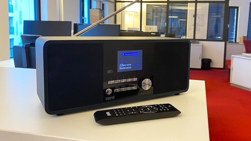 Imperial Dabman i200 im Test©Imperial, COMPUTER BILD