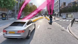 Vernetzte Verkehrsteilnehmer©Telekom