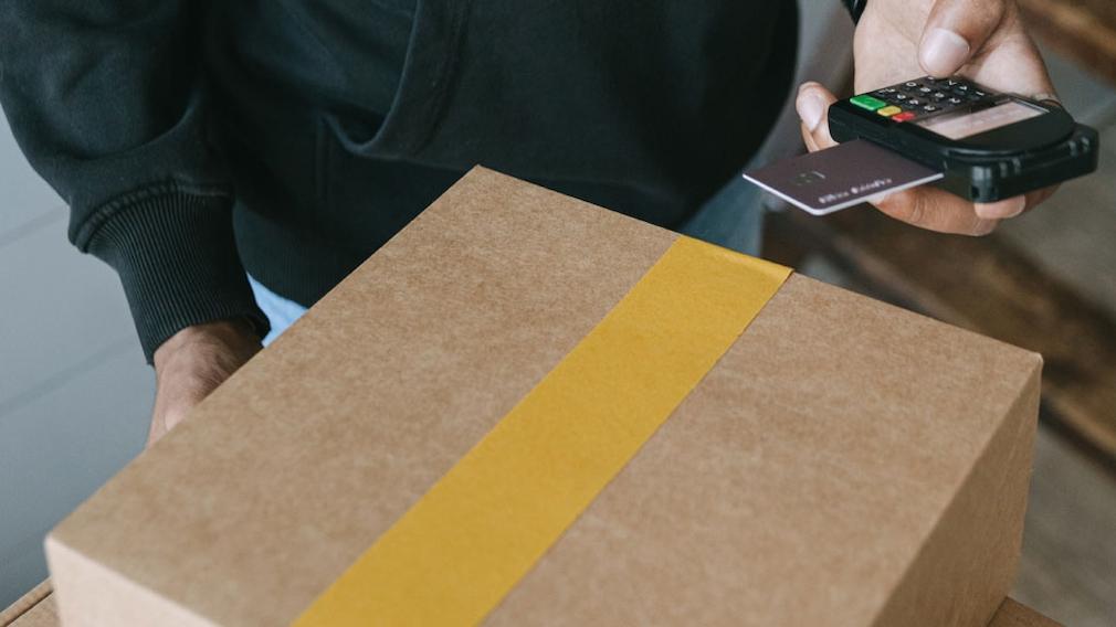 Paketlieferung