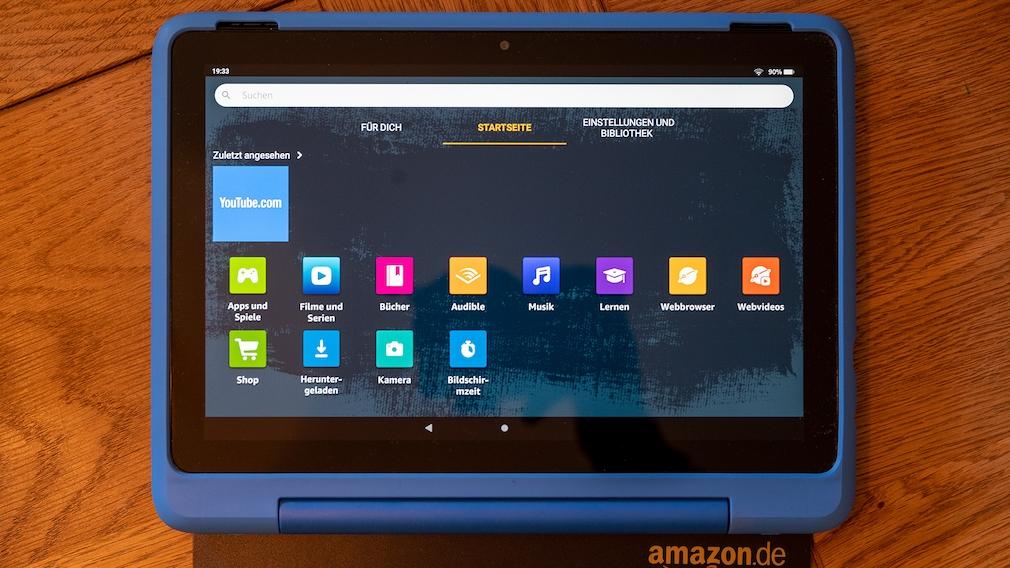 Amazon Fire HD 10 Kids Pro im Praxis-Test©COMPUTER BILD