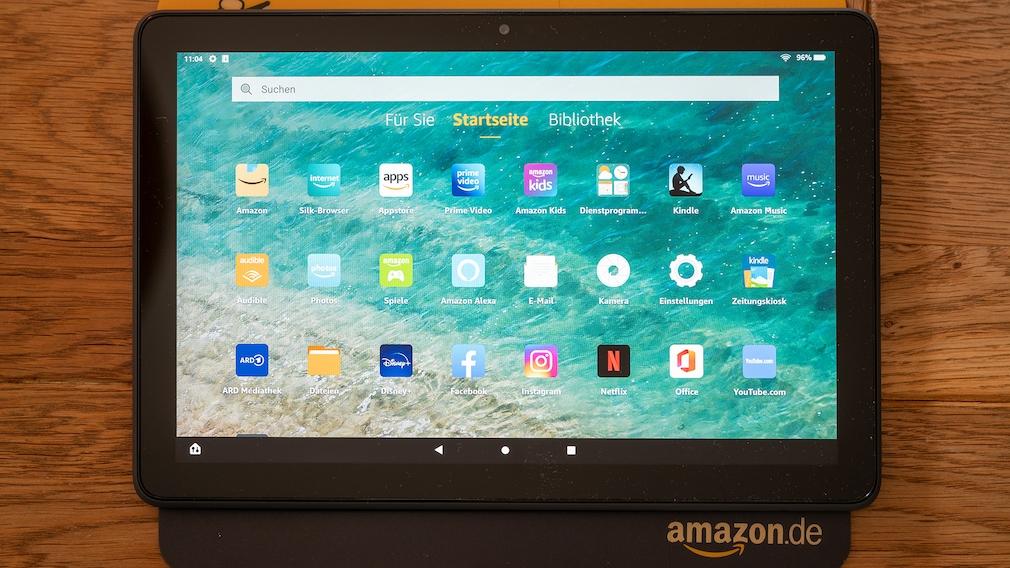 Amazon Fire HD 10 Plus im Test©COMPUTER BILD