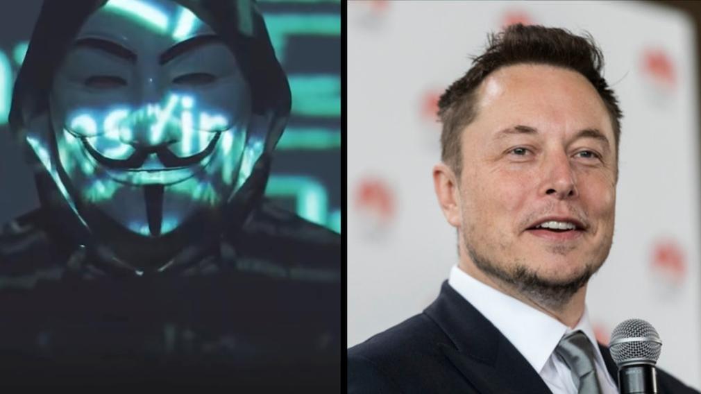 Wegen des Bitcoin: Elon Musk hat Ärger mit Anonymous