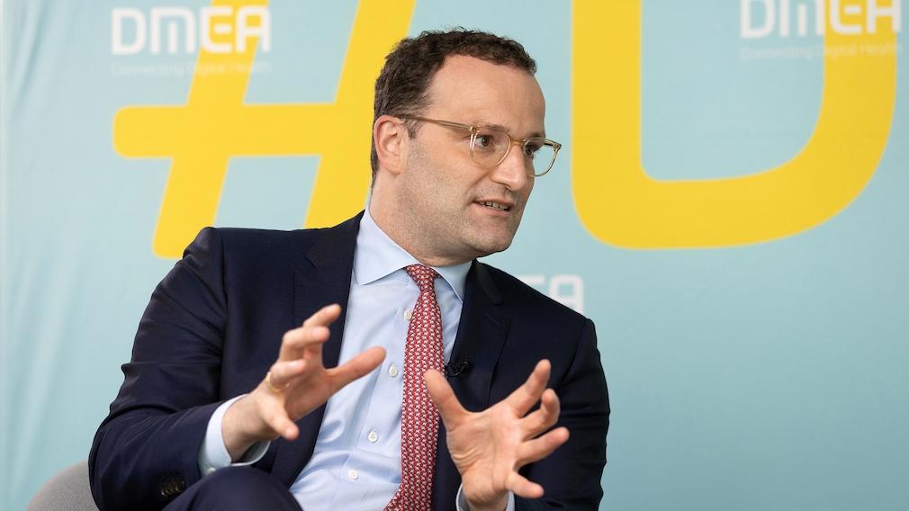Jens Spahn auf der DMEA 2021