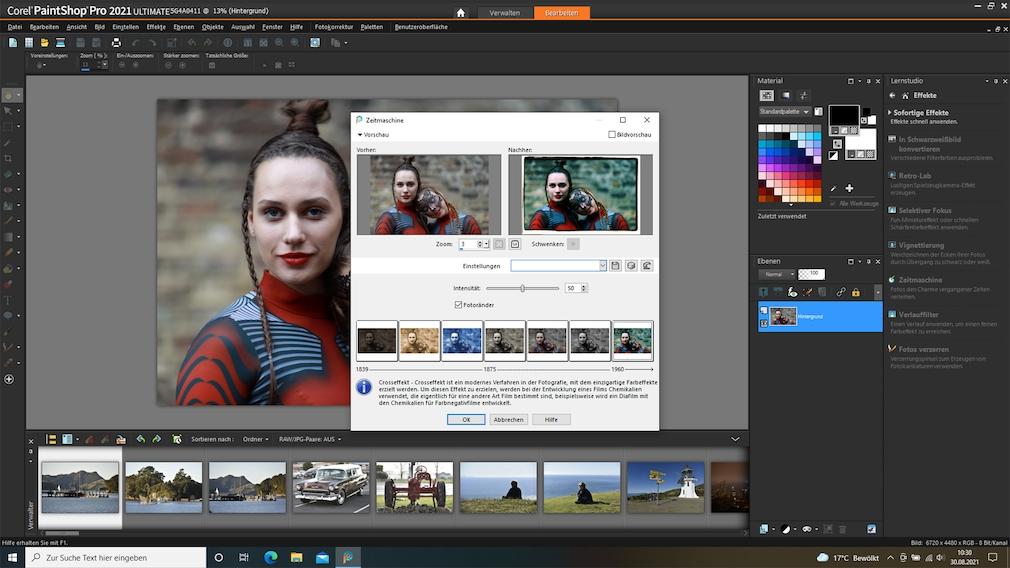 Corel PaintShop Pro 2021 Lernstudio