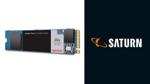 NVMe-SSD bei Saturn im Angebot: SanDisk-Speicher im Preis gesenkt©Saturn, SanDisk