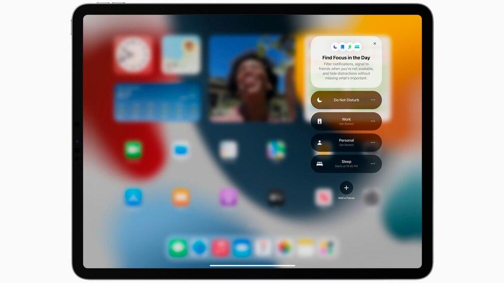 iPad Pro vor grauem Hintergrund.