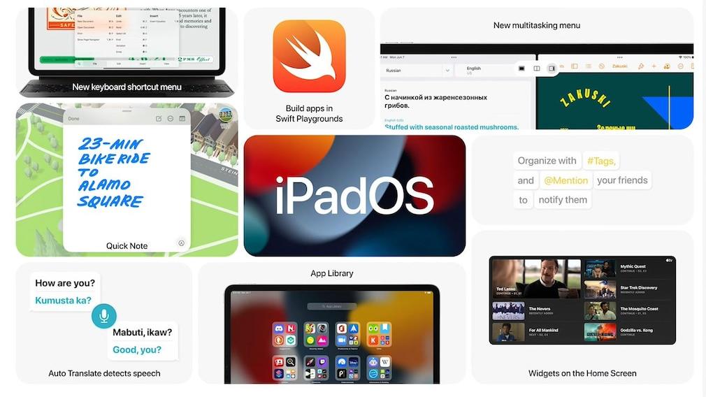 iPad Pro mit iPadOS