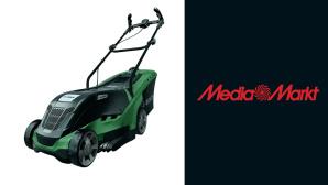 Elektro-Rasenm�her bei Media Markt im Angebot: Bosch zum Bestpreis ergattern©Media Markt, Bosch