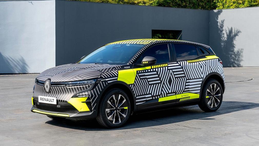 Der Renault Megane E-Tech