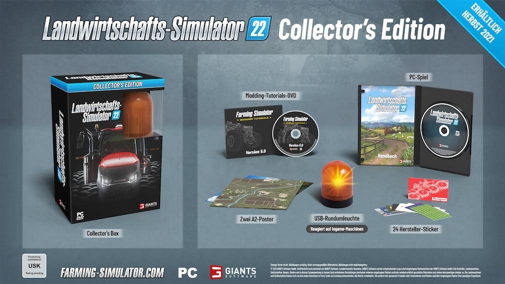 Landwirtschafts-Simulator 22, Collector's Edition