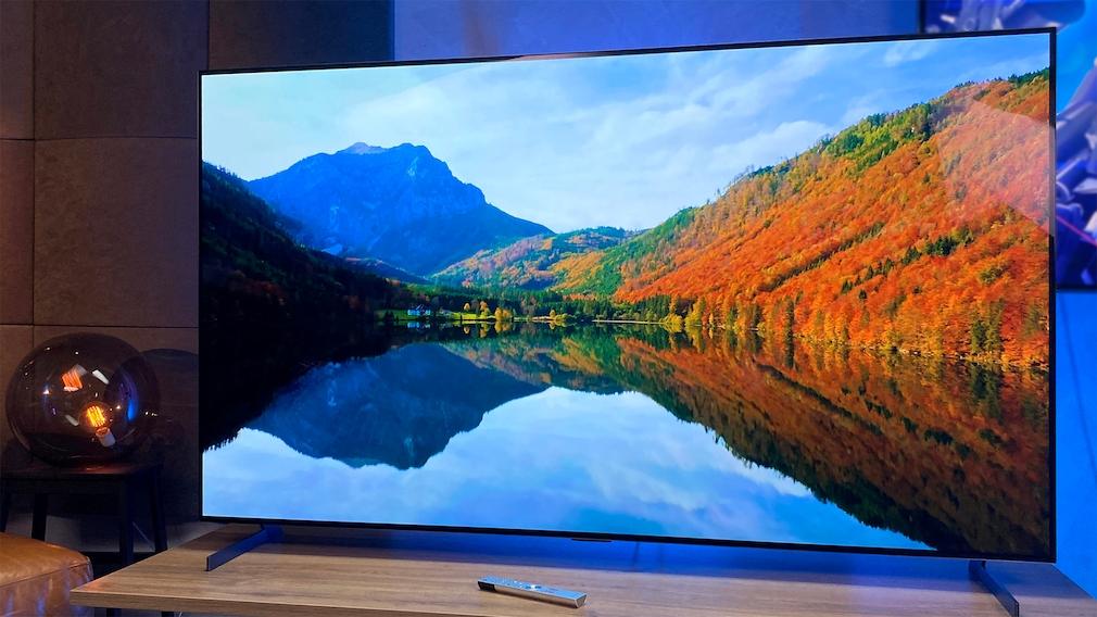 Die Bildqualität des LG OLED Z1 ist überwältigend und legt mit 8K-Material noch zu.