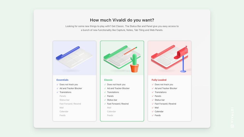 Screenshot: Auswahl