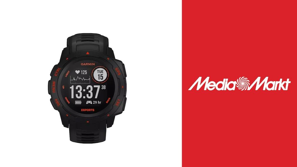 Garmin-Smartwatch im Angebot bei Media Markt