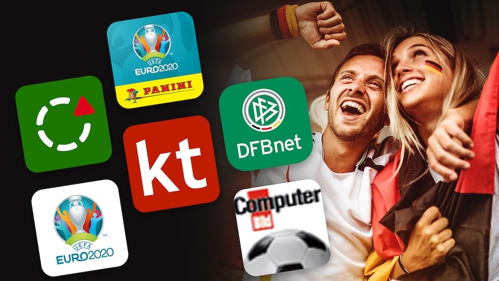 EM: Spielplan, Tippspiel und Apps