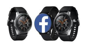 Facebook Smartwatch©Samsung / Facebook (Fotomontage)