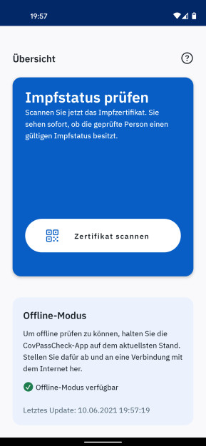CovPass Check (Android-App)
