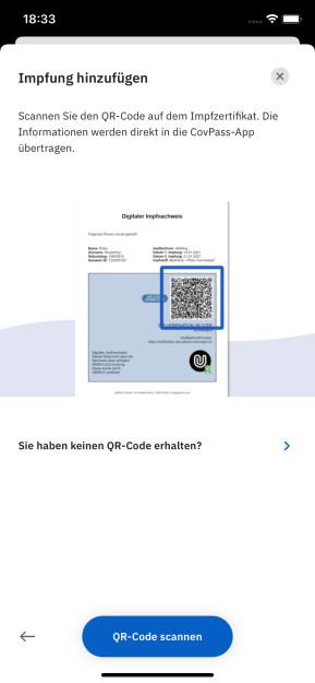 CovPass Check (iPhone-App)