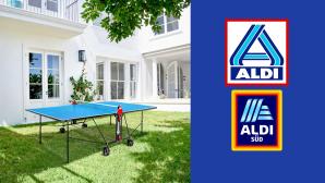 Tischtennisplatte bei Aldi im Angebot: Spielspaß zum Discounterpreis©Aldi, Sponeta