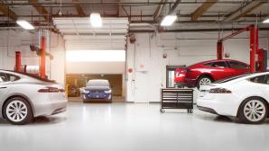 Tesla-Werkstatt©Tesla