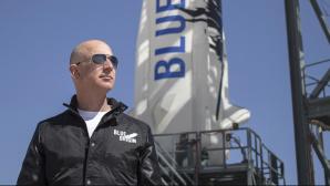Amazon-Chef Jeff Bezos©Blue Origin