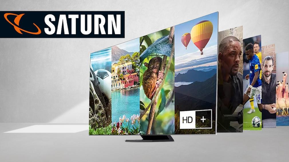 Fernseher bei Saturn im Angebot: Großer Samsung Smart-TV durch Direktabzug günstiger