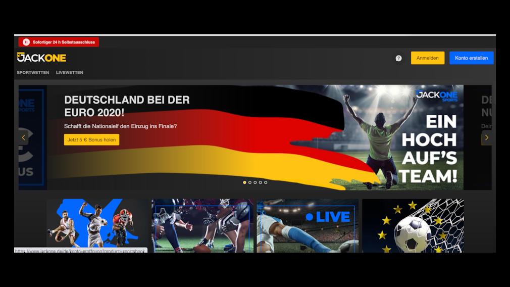 EM Deutschland Frankreich Sportwetten JackOne