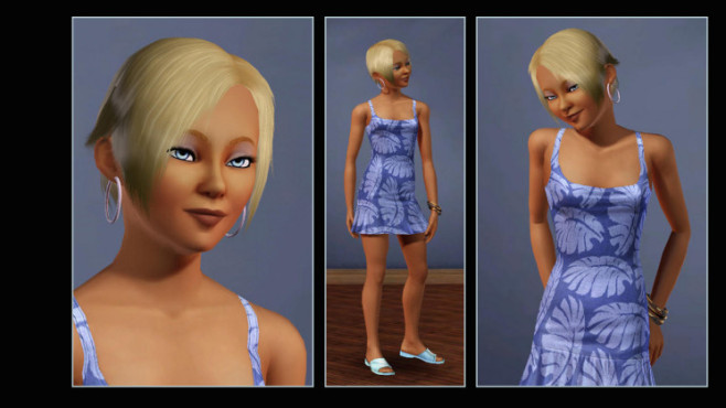 Simulation Die Sims 3: Blondine ©Electronic Arts