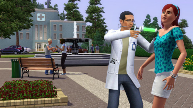 Simulation Die Sims 3: Doktor ©Electronic Arts